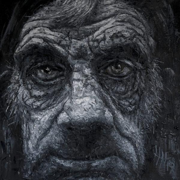 Hedley wird durch seine Porträt- Fotografie inspiriert, den Menschen zu malen, und umgekehrt inspiriert ihn seine Malerei bei der Fotografie.
